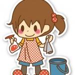 女の子_掃除_01